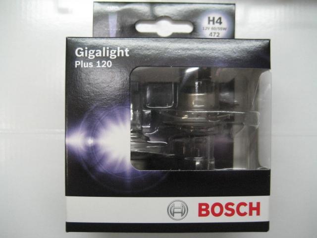 bosch h4 120 1987301106 gigalight plus 12v 60 55w. Black Bedroom Furniture Sets. Home Design Ideas